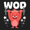 Wodimal - animated stickers for CrossFitters