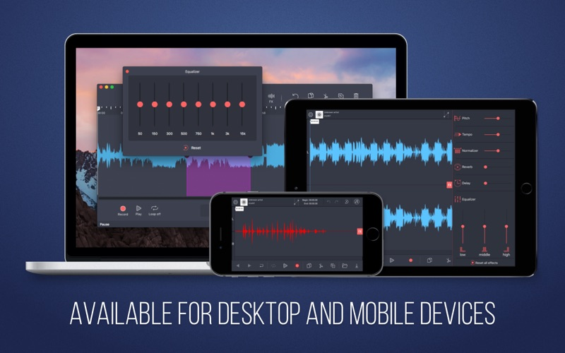Audio Editor Pro - Merge, Split, And Edit Screenshots
