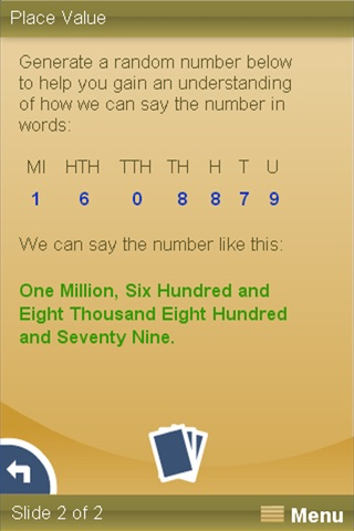 Numbers and Probability screenshot 3