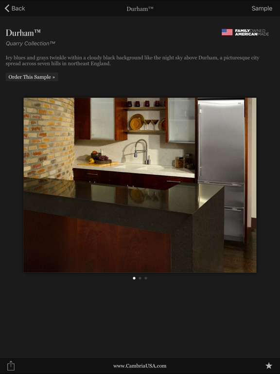 Cambria designs on the app store Free kitchen design app for ipad