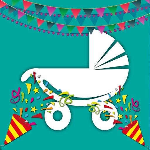 Invitaciones De Bienvenida Al Bebé Tarjeta Gratis Por