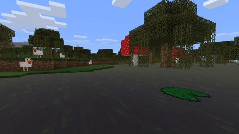 Screenshot #2 for Minecraft: Apple TV Edition