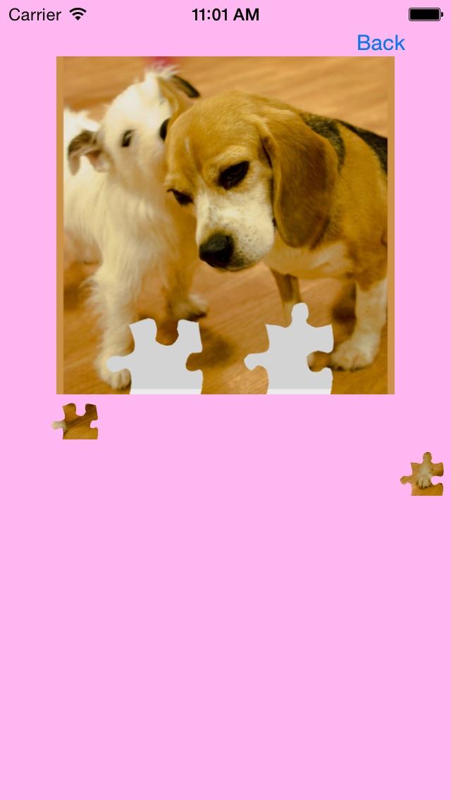 犬(イヌ,いぬ)のジグソーパズルのスクリーンショット1
