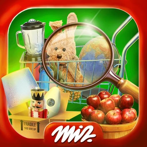 宝探しスーパーマーケット - の隠しアイテム探しゲーム