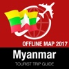 Myanmar Tourist Guide + Offline Map myanmar map
