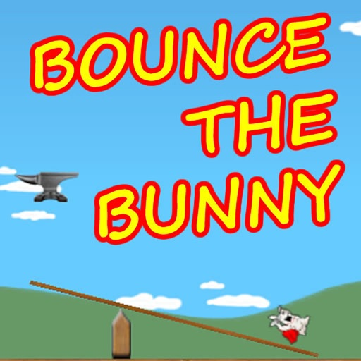 Stress Relieving Game - Bounce The Bunny Icon