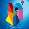 Kids Learning Puzzles: Birds, Tangram Playground