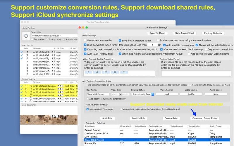 Thunder Video Converter Pro Screenshots