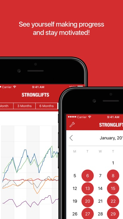 download StrongLifts 5x5 Workout Plan appstore review