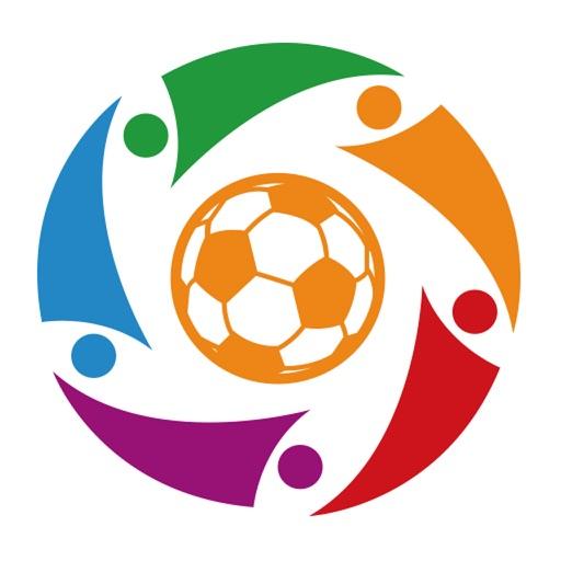 关于足球标志的简笔画