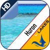 Huron Lake GPS offline nautical chart for boaters