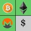 Crypto Convert: Exchange Crypto-Currency Valuation