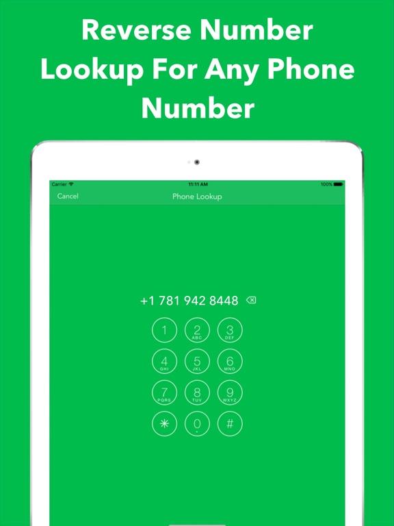 Reverse Number Lookup App Iphone