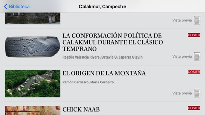 Arqueologa Mexicana review screenshots