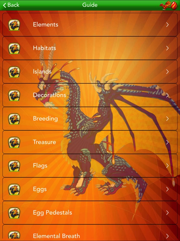 Ultimate Pocket Guide for Dragon Vale (Unofficial) iOS Application