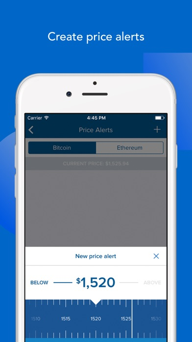 Coinbase Buy Bitcoin Amp More Secure Wallet On The App Store