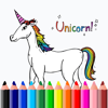 Junior Draw Games Little Unicorn Coloring Pages Wiki