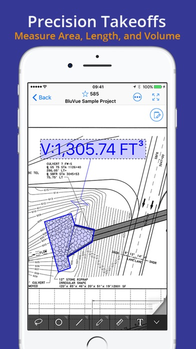 Bluvue plans construction on the app store for Application ipad construction maison