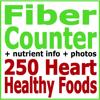 Fiber Counter plus 250 Heart Healthy Foods