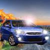 Carolina Vergara - A Championship Car on Asphalt : Extreme Shocks  artwork