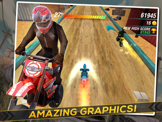 Screenshot #2 for Motocross Trial Racing 3D
