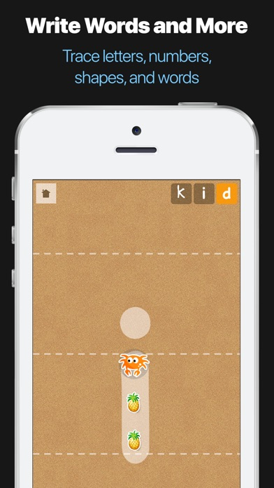 Little Writer - The Tracing App for Kids Screenshot 3