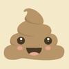 Kawaii Poop Emoji : Animated Cute Stickers