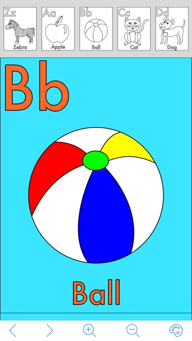 My Alphabet Coloring Book On The App Store