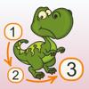 Punkte verbinden - Dinosaurs (Prämie)