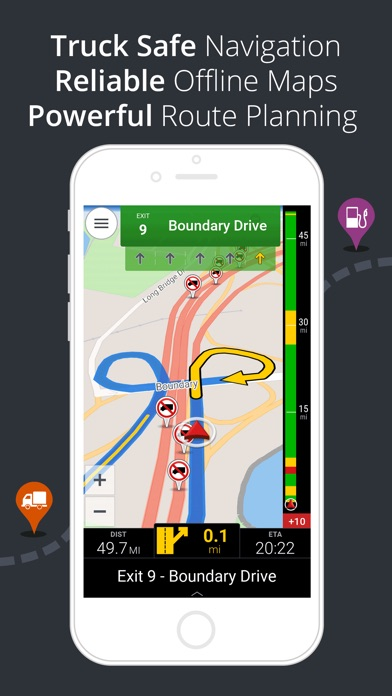 Truck Route Gps App Iphone