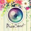 かわいい&おしゃれ写真加工コラージュアプリ - PicoSweet ピコスイート