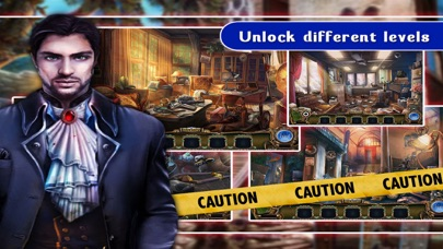Screenshot of Hidden Object: The Paranormal Secret Library PRO App