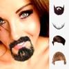 鬍子和頭髮貼鬍子照片編輯器