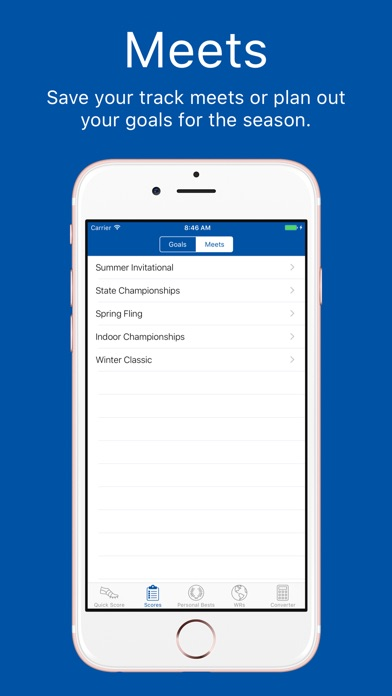 Track and Field Combined Events Calculator Screenshot
