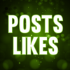 Fanpage posts likes for Facebook