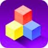 The box together - Tetris single hexagonal block