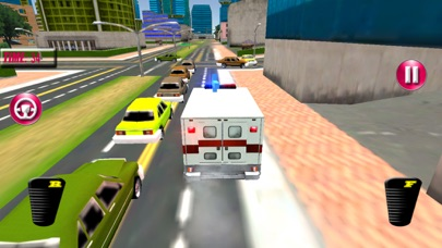 Fast Ambulance Rescue Duty 3D Pro screenshot 3