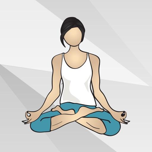 наклейки йога