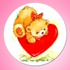 Teddy Bear I Love You Sticker Pack