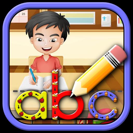 Дети учатся писать письма цифры и слова