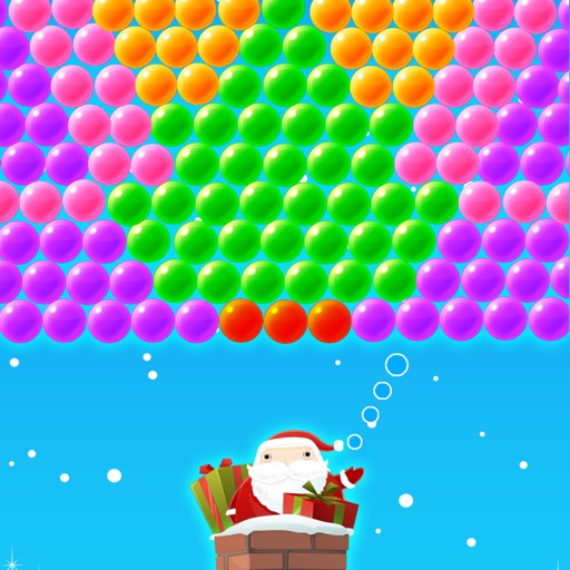 Bubble Shooter Christmas - Free Classic Game iOS App
