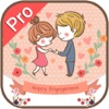 Engagement Invitation Cards Maker Pro