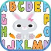 ABC Kids Games Words - Rabbit Animal Baby Apps phonics baby