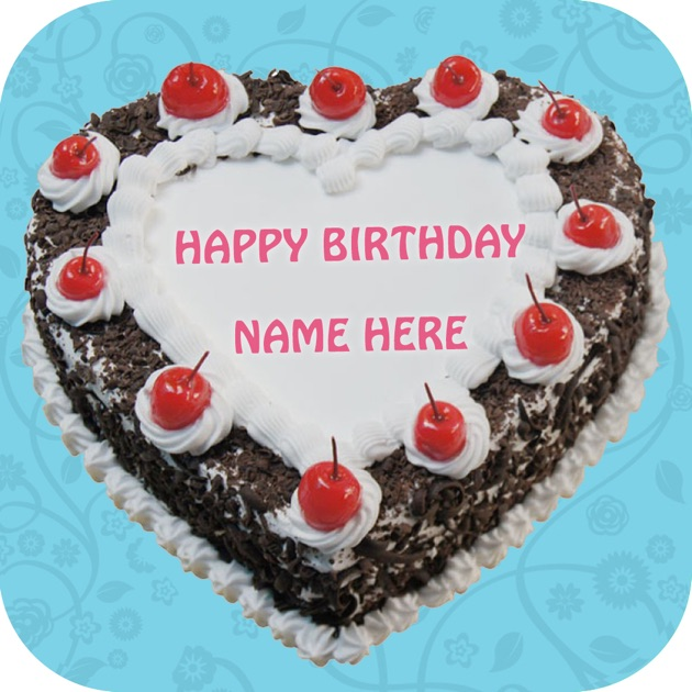 Birthday Cake Images With Name Chirag : Name On Cake - Write Name On Happy Birthday Cake on the ...