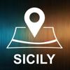 Sicily, Italy, Offline Auto GPS