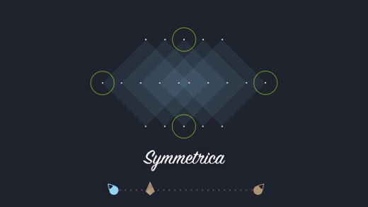 Symmetrica - Minimalistic arcade game Screenshot