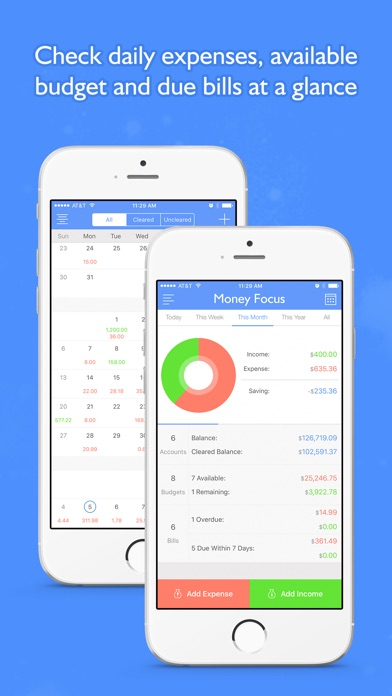Screenshot #6 for Money Focus Pro - Account, Budget and Bill Manager