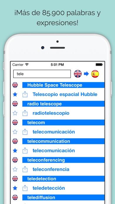 download Diccionario Inglés Español Offline (dictionary) apps 2