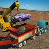Monster Car Crusher Crane: Garbage Truck Simulator App