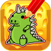 Kids Draw And Paint Godzilla Coloring Book Games Wiki